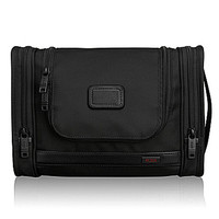 Tumi Alpha 2 Nylon Hanging Travel Kit Bag - Black