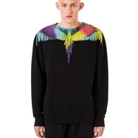 Marcelo Burlon colored wings printed sweater