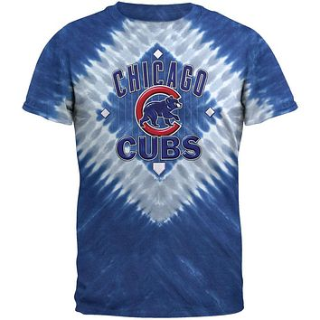 Chicago Cubs - In Field Tie Dye T-Shirt