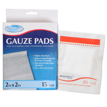 Bulk Assured Sterile Gauze Pads, 15-ct. Boxes at DollarTree.com