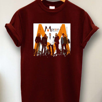 maroon 5 members tshirt size s -3xl
