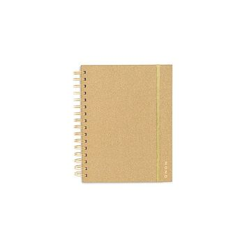 BAN.DO MEDIUM 12-MONTH PLANNER-GOLD GLITTER