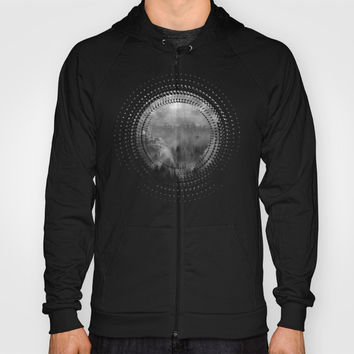 Black and White - Wish You Were Here (Chapter I) Hoody by Viviana Gonzalez