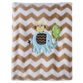 Circo® Soft Fleece Blanket - Jungle Stack