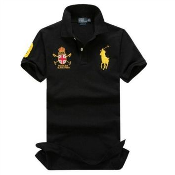 CREYUIB NEW POLO RALPH LAUREN SHIRT MEN SHORT SLEEVE T-SHIRTS