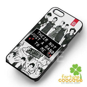 their not just a band to me 1D 5sos-1nnya for iPhone 4/4S/5/5S/5C/6/ 6+,samsung S3/S4/S5,S6 Regular,S6 edge,samsung note 3/4