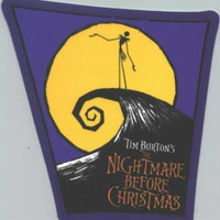 Nightmare Before Christmas Vinyl Sticker Poster Logo