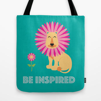 Be Inspired Tote Bag by Aubergine & Purple