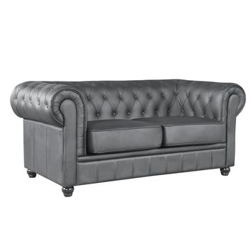 Chestfield Loveseat, Black