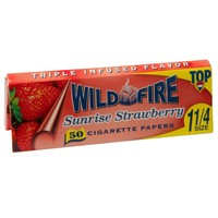 Top Wildfire - Sunrise Strawberry Regular Size Rolling Papers - Single Pack