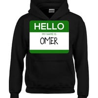 Hello My Name Is OMER v1-Hoodie