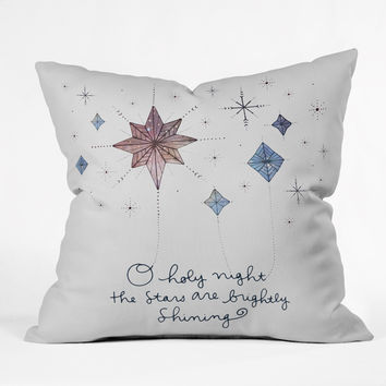 Gabi Holy Night Throw Pillow