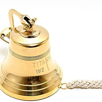 Titanic Ship Bell - 6 inches Hancrafted Nautical Decor