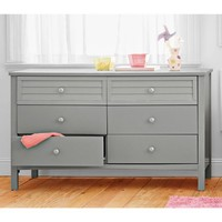 Better Homes and Gardens Kids Panama Beach 6-Drawer Dresser, Gray - Walmart.com