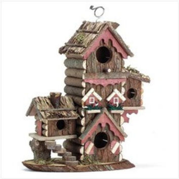 Gingerbread Style Birdhouse (pack of 1 EA)