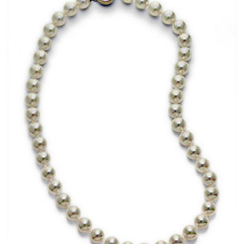 Majorica Organic Man-Made Pearl Necklace