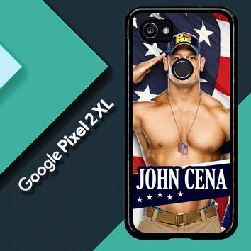 John Cena Flag W3176 Google Pixel 2 XL Custom Case