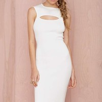Life Is a Highway Ribbed Cutout Dress