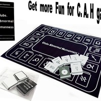 Star-Signs Cards Expansion For C. A. H. Card Game. Include A Star-Sign Houses Playmat,21 Star-signs cards,40 blank DIY cards.( Official Card Game Sold Separately)