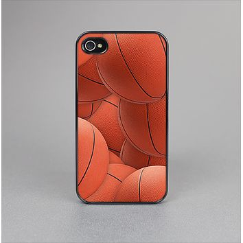 The Basketball Overlay Skin-Sert Case for the Apple iPhone 4-4s
