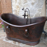 Sierra Copper Essex 66 Inch Tub with Rings
