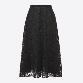 Valentino Full Heavy Lace Skirt, Skirts for Women - Valentino Online Boutique