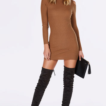 No Competition Ribbed Dress