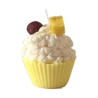 Pineapple Upside Down Cupcake Candle