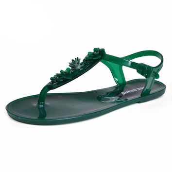 New Summer PVC Jelly Shoes for Woman
