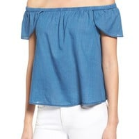 Madewell Off the Shoulder Cotton Top | Nordstrom