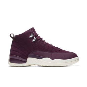 "Air Jordan 12 Retro ""Bordeaux"" Basketball Sneaker"