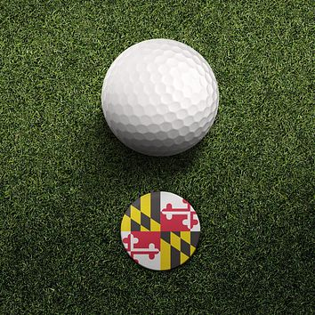 Maryland / Hat Clip with Magnetic Ball Marker