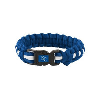 "Kansas City Royals Survival Bracelet 8""S/M"