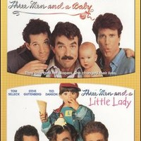 Three Men & a Baby/Three Men & a Little Lady [2 discs]