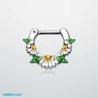 Daisy Garden Icon Septum Clicker
