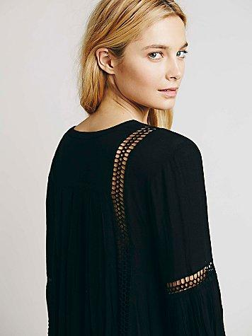 81039b9209de Free People Womens Babydoll Lace Inset from Free People