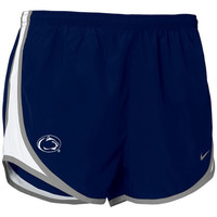 Nike Penn State Nittany Lions Women's Gray Tempo Performance Shorts