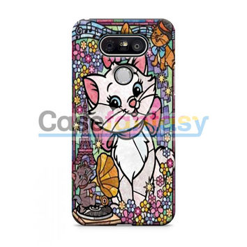 Marie Cat Disney'S The Aristocats Stained Glass LG G2 G3 G4 G5 Case | casefantasy