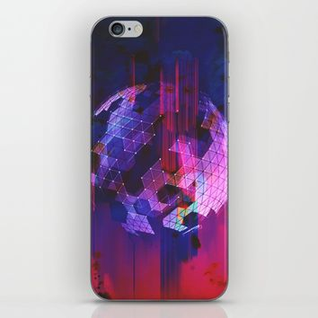 Powerful Defeat iPhone & iPod Skin by Ducky B