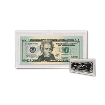 10 DELUXE CURRENCY SLABS FOR REGULAR BANKNOTES