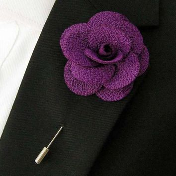 Lavender Lapel Pin Boyfriend Gift Men's Gift Anniversary Gift for Men Husband Gift Wedding Gift For Him Groomsmen Gift for Friend Gift Ideas