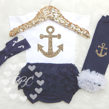 Anchor Nautical Outfit