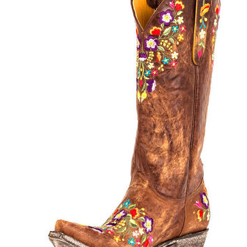 Old Gringo Women's Sora Boot - Brass/Multi