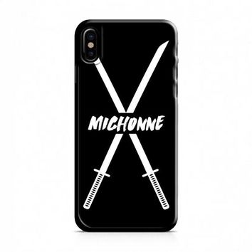 Michonne swords The Walking Dead iPhone X Case