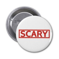 Scary Stamp Buttons