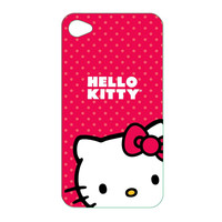 Hello Kitty KT4478R Polycarbonate Wrap for iPod Touch 4G
