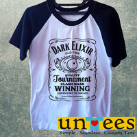Dark Elixir Clash of Clans Parody Short Raglan Sleeves T-shirt