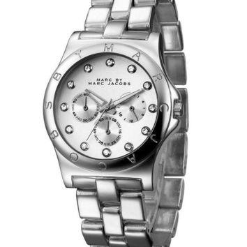 MJ Marc BY Marc Jacobs passion ,deep feeling,shiny, fashion watch L-PS-XSDZBSH Silver