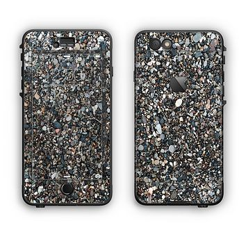 The Small Dark Pebbles Apple iPhone 6 Plus LifeProof Nuud Case Skin Set