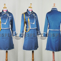 Custom Sheska Cosplay from FullMetal Alchemist - Tailor-Made Cosplay Costume